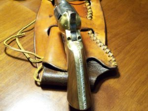 Black Powder Revolver Back Strap