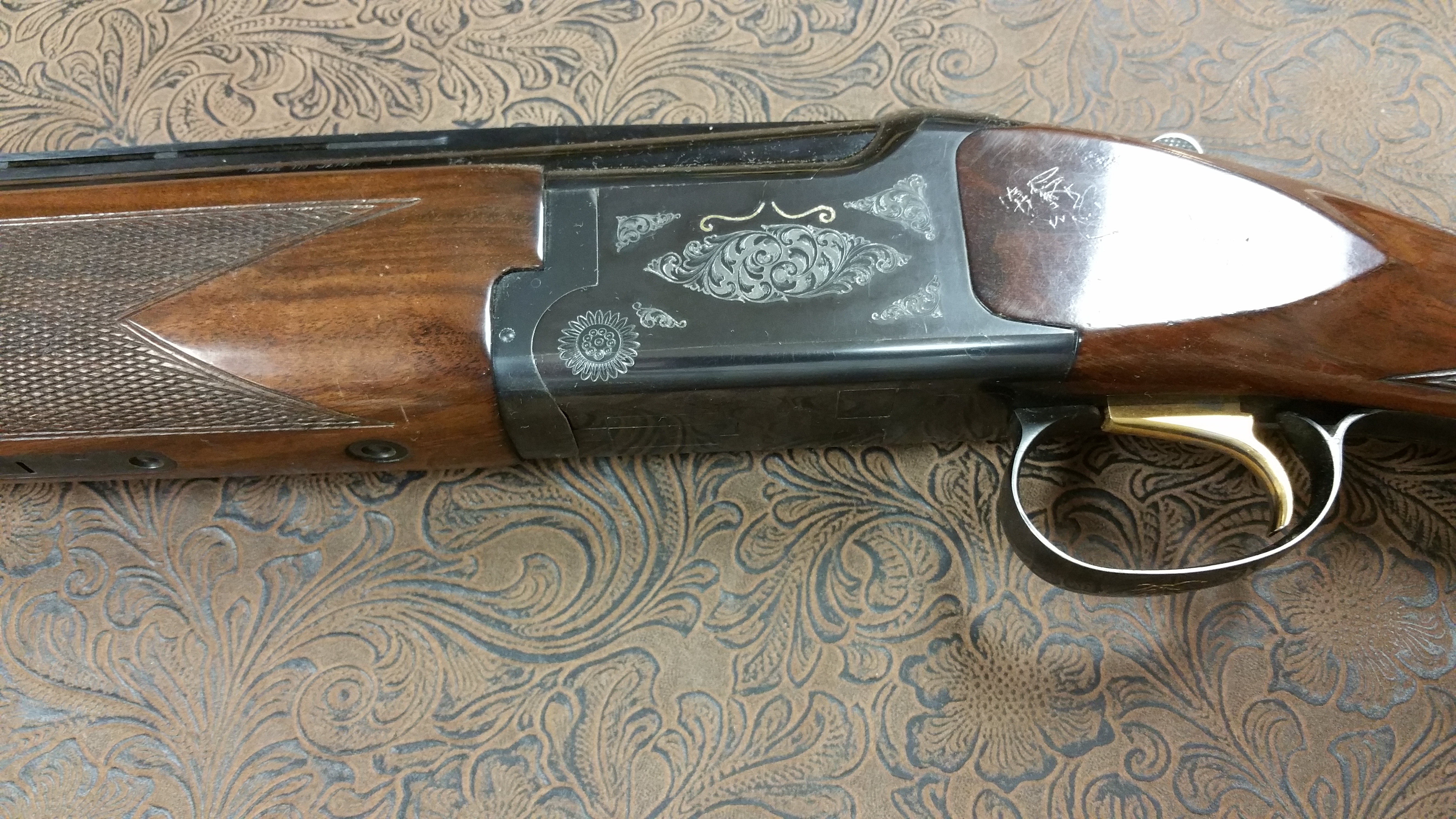 Browning Citori Jeff Loehr Firearm Engraving And Custom