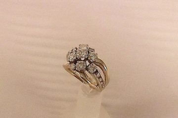 Eight Diamond Custom Ring