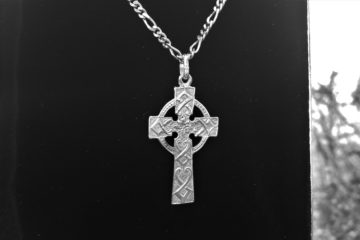 Silver Baptism Cross