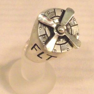 Silver Flight Engineer's Ring 2